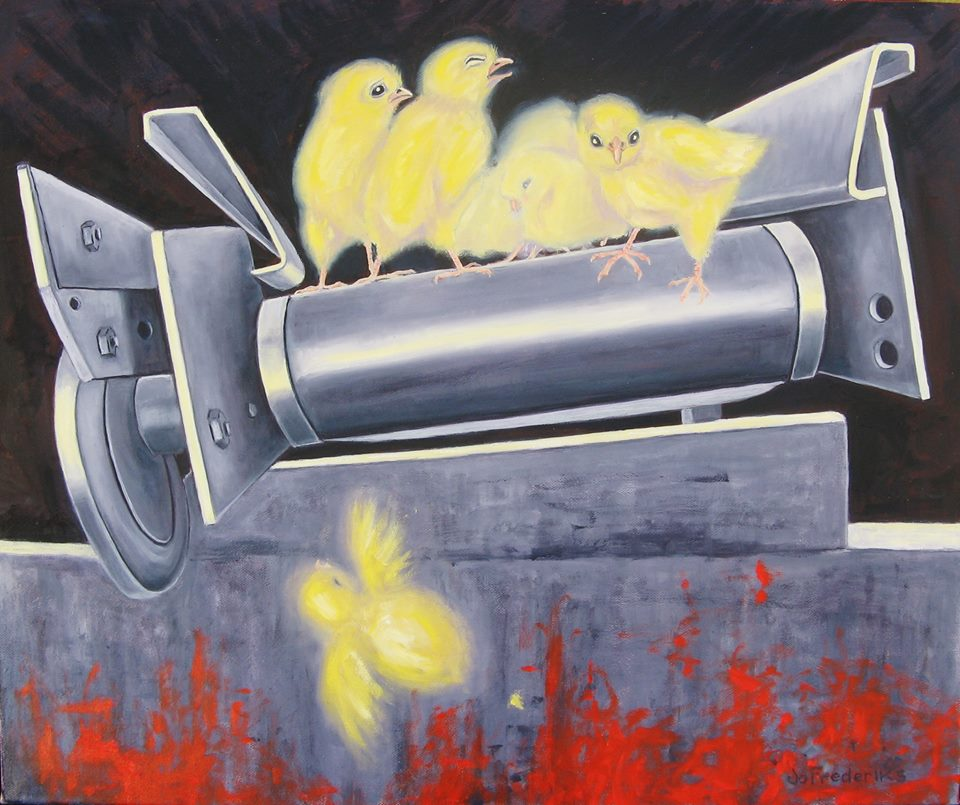 Jo Frederiks - Male chicks. The ultimate helpless victims.